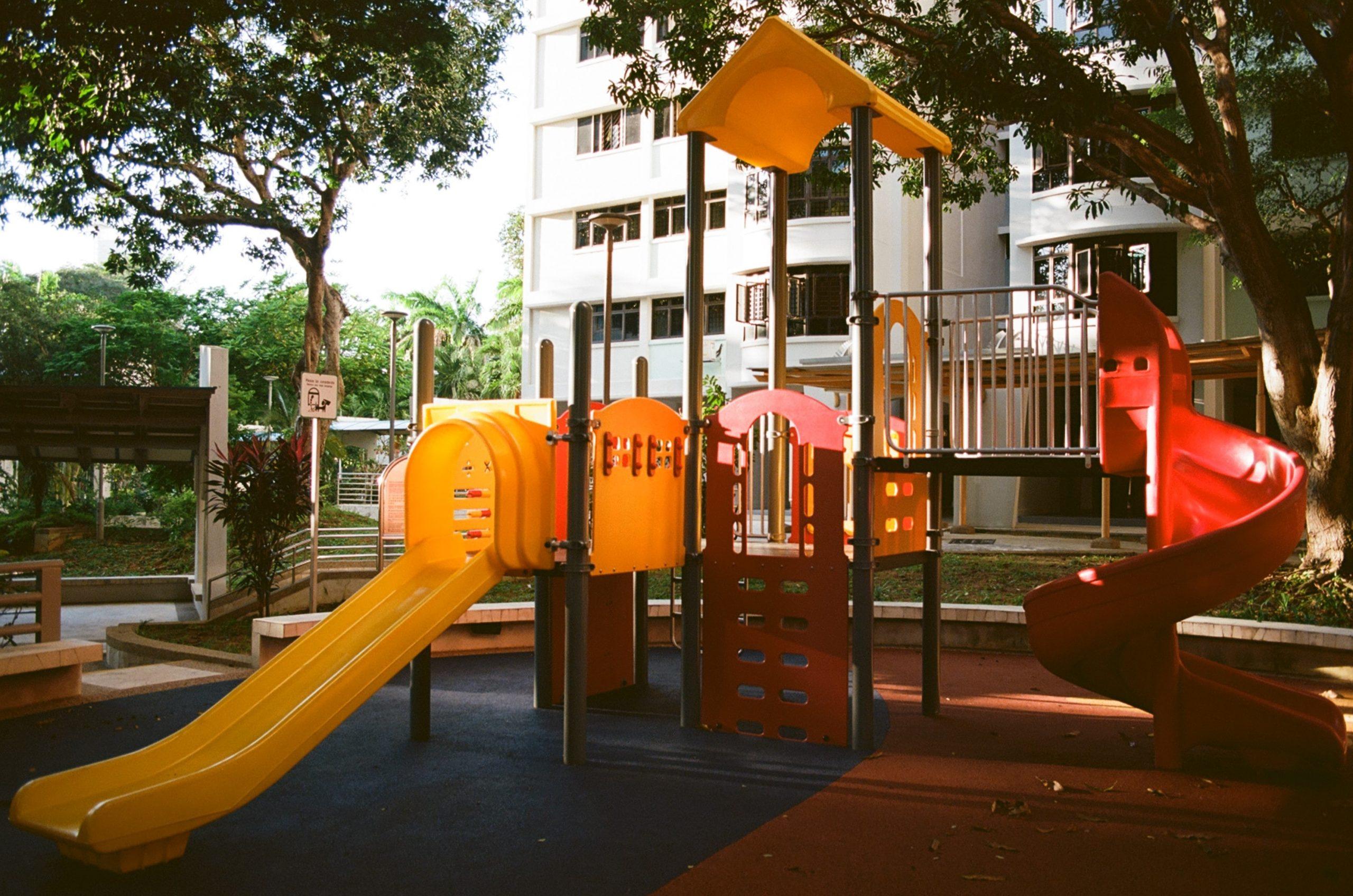 playground de um condomínio